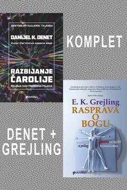 KOMPLET 2 knjige - Denet i Grejling